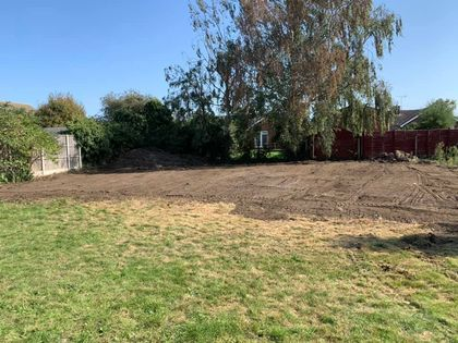 Langford Community Garden After 3 weeks & ready for Winter